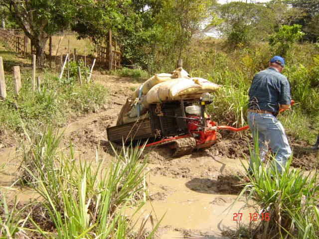 In-field transport in wet areas